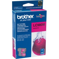 Brother Tinte magenta LC980M