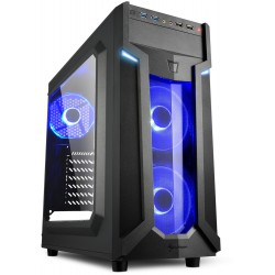 PC- Gehäuse Sharkoon VG6-W blue