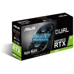VGA Asus GeForce® RTX 2060 6GB Dual Advanced