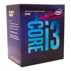 Intel Box Core i3 Processor i3-8300 3,70Ghz 8M...