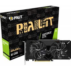 VGA Palit GeForce® GTX 1660 Ti 6GB Dual