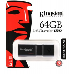 USB Stick 64GB Kingston DT100G3 USB 3.0...