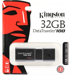 USB Stick 32GB Kingston DT100G3 USB 3.0 DT100G3/32