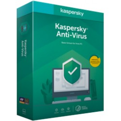 Kaspersky Anti-Virus 2020 deutsch (Abo, Box, 1...