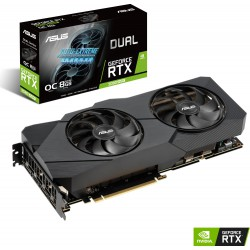 VGA Asus GeForce® RTX 2080 SUPER 8GB Dual OC Evo