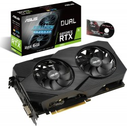 VGA Asus GeForce® RTX 2060 6GB Dual Advanced EVO