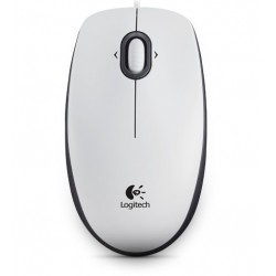 Mouse Logitech B100 Optical USB Mouse weiß...