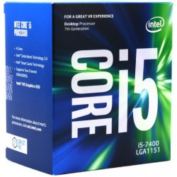 Intel Box Core i5 Processor i5-7400 3,00Ghz 6M...