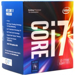 Intel Box Core i7 Processor i7-7700 3,60Ghz 8M...