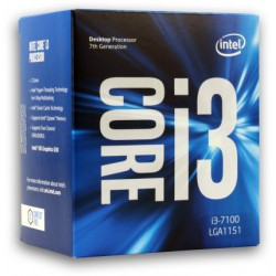 Intel Box Core i3 Processor i3-7100 3,90Ghz 3M...