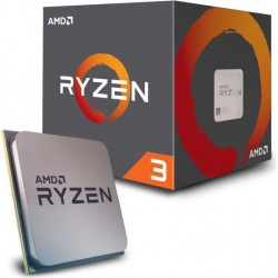 AMD Ryzen 3 1200 Box AM4 (3,100GHz)...