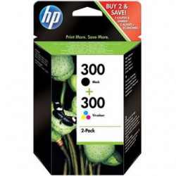 HP Tinte Combo pack schwarz/farbig CN637EE
