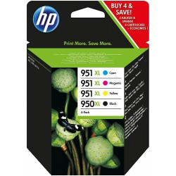 HP Tinte Combo Pack 4er Pack 950XL/951XL C2P43AE