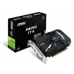 VGA MSI GeForce® GTX 1050 Ti 4GB Aero ITX OCV1